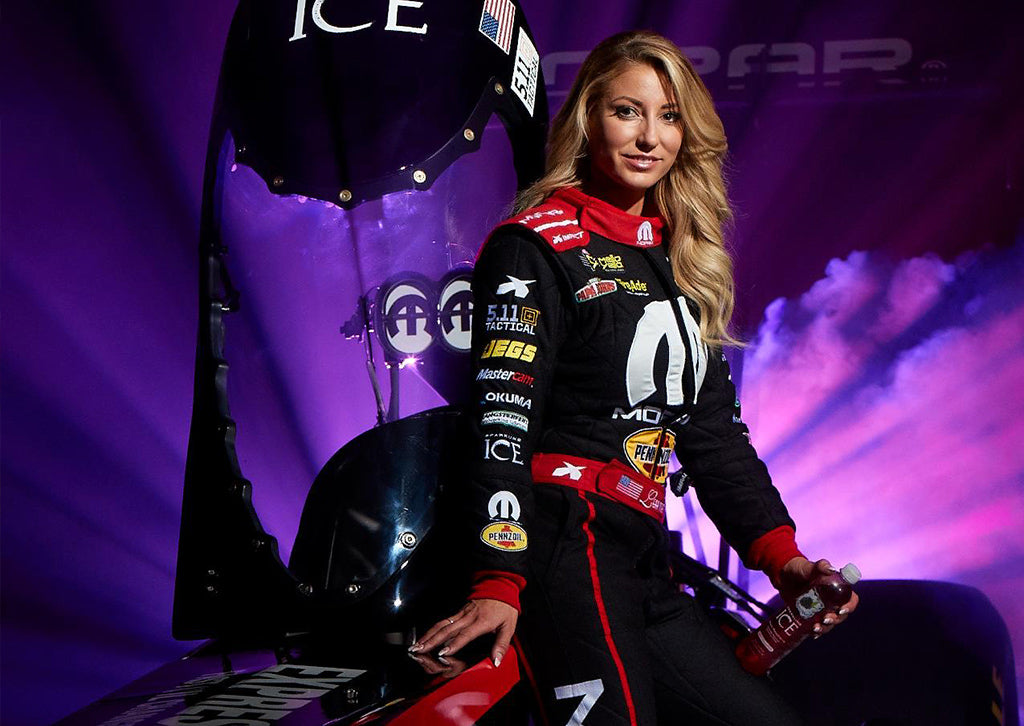 Sparkling Ice Announces Sponsorship of NHRA Top Fuel Driver Leah Pritchett