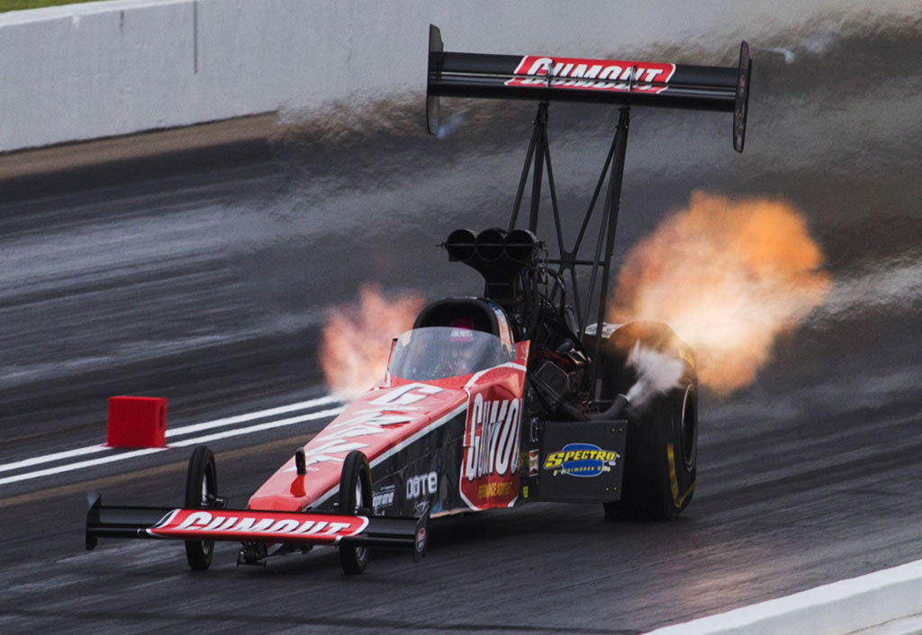 LEAH PRITCHETT, GUMOUT/DOTE RACING DRAGSTER IMPROVE IN RAIN-SHORTENED KANSAS NATIONALS TOP FUEL QUALIFYING SATURDAY | Leah Pritchett