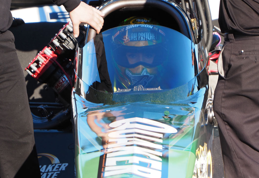 LEAH PRITCHETT GETS HER FIRST TOP FUEL WIN IN ALL FEMALE FINAL ROUND
