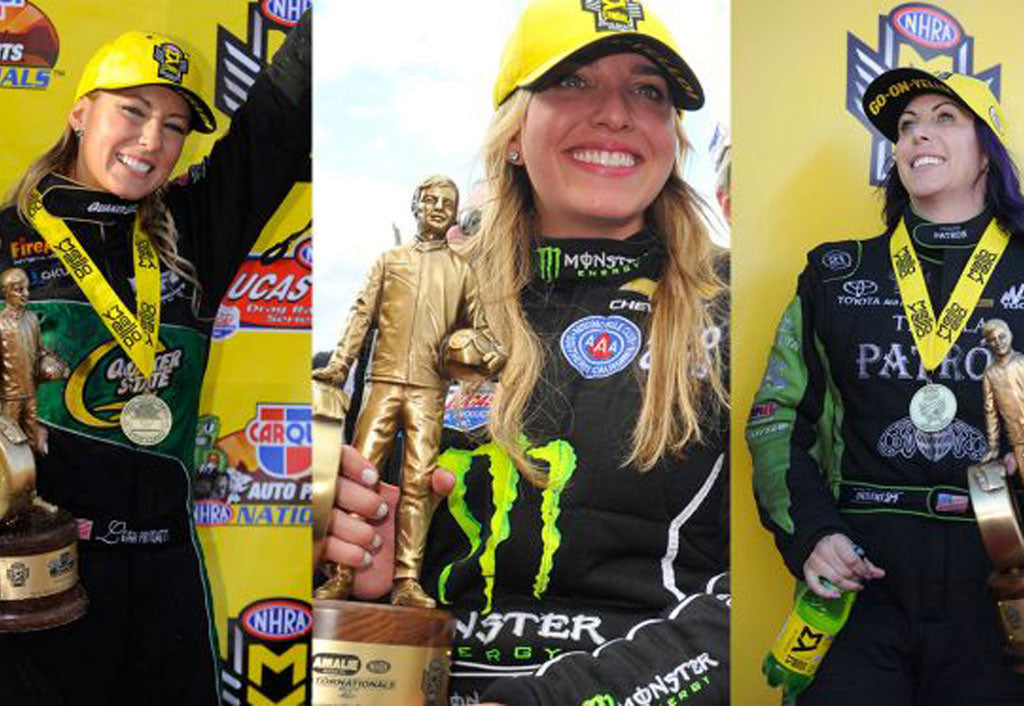 Female drivers set record with wins in last three NHRA events | Leah Pritchett