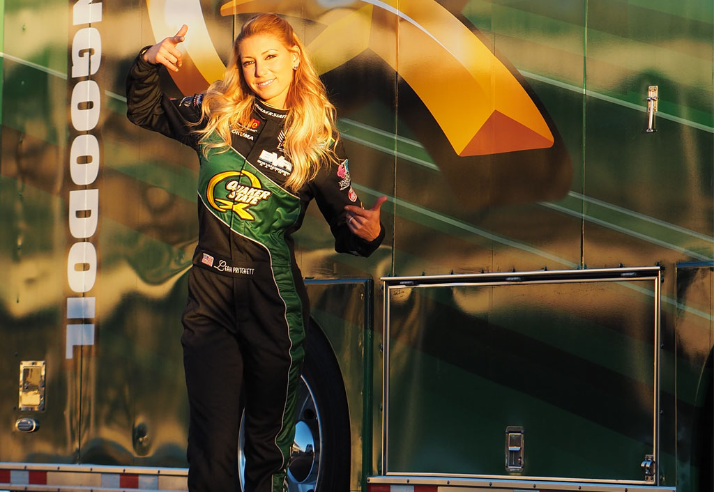 MOTOR SPORTS NOTES: Redlands' Pritchett shifts her drag racing career into high gear | Leah Pritchett