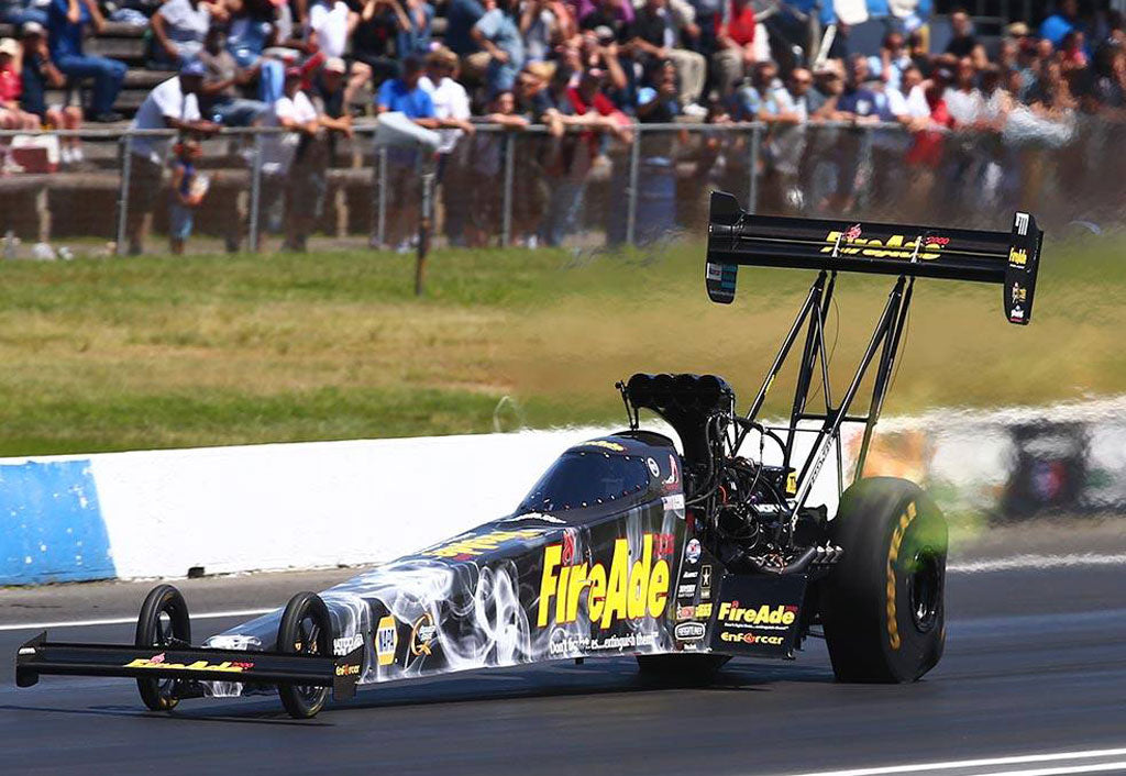 FireAde, Pritchett to visit Bristol Central Fire Station Thursday as tune-up for this weekend's NHRA Thunder Valley Nationals | Leah Pritchett
