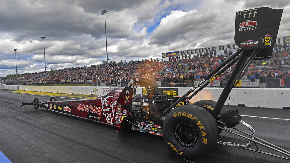 Leah Pritchett tops NHRA New England Nationals Qualifying