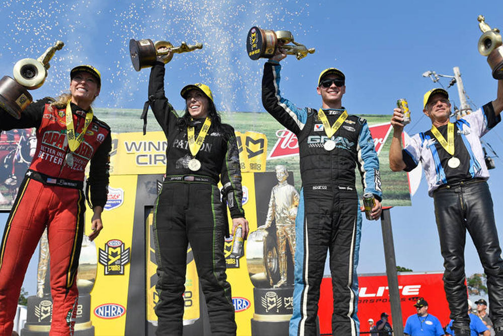 NHRA'S LEAH PRITCHETT, ALEXIS DEJORIA RULE THE DAY AT BRAINERD | Leah Pritchett
