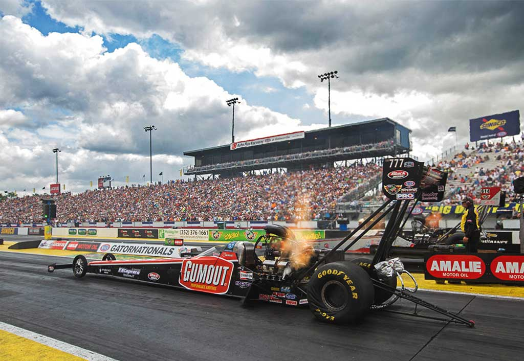 PRITCHETT, DOTE TOP FUEL TEAM SAVED BEST FOR LAST SATURDAY  IN GAINESVILLE QUALIFYING, TAKING 5TH IN GUMOUT DRAGSTER | Leah Pritchett