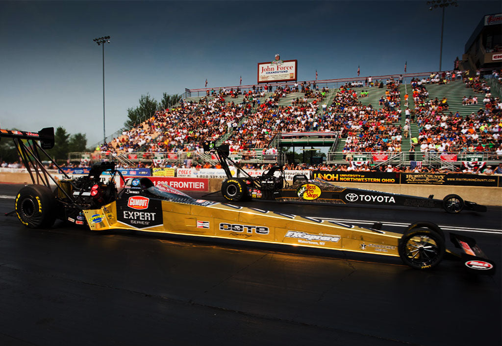 "PRITCHETT, GUMOUT ""SOLID GOLD"" DRAGSTER LOSE BY INCHES SUNDAY IN FIRST ROUND AT NORWALK"
