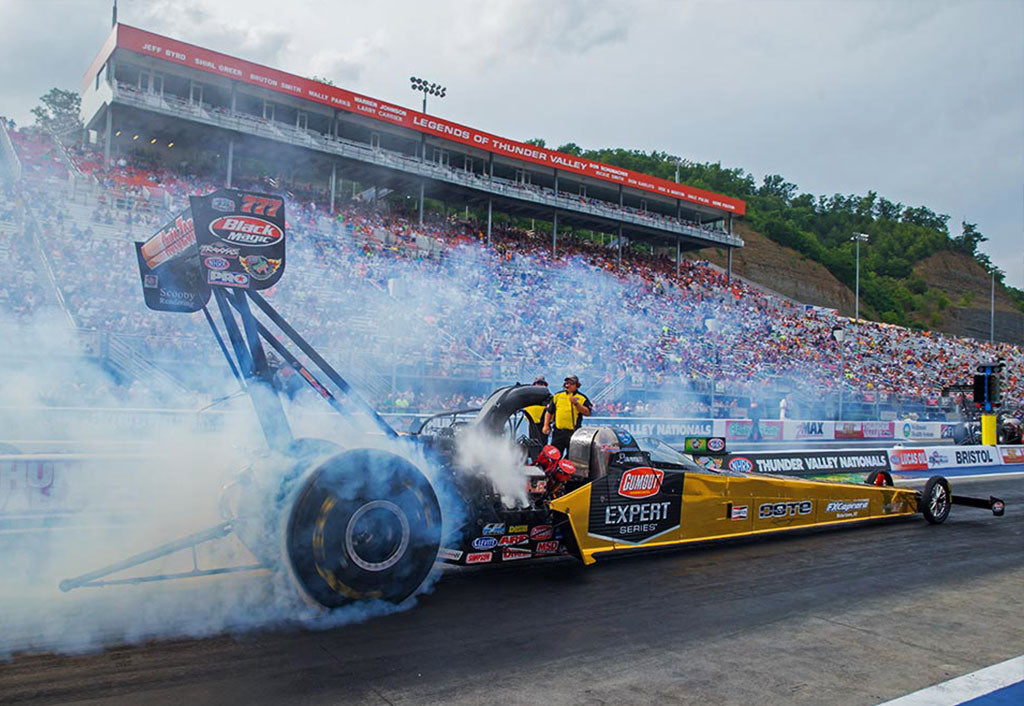 "PRITCHETT TAKES NEW GUMOUT ""SOLID GOLD"" TOP FUELER  TO 11TH POSITION FRIDAY NIGHT AT BRISTOL DRAGWAY 