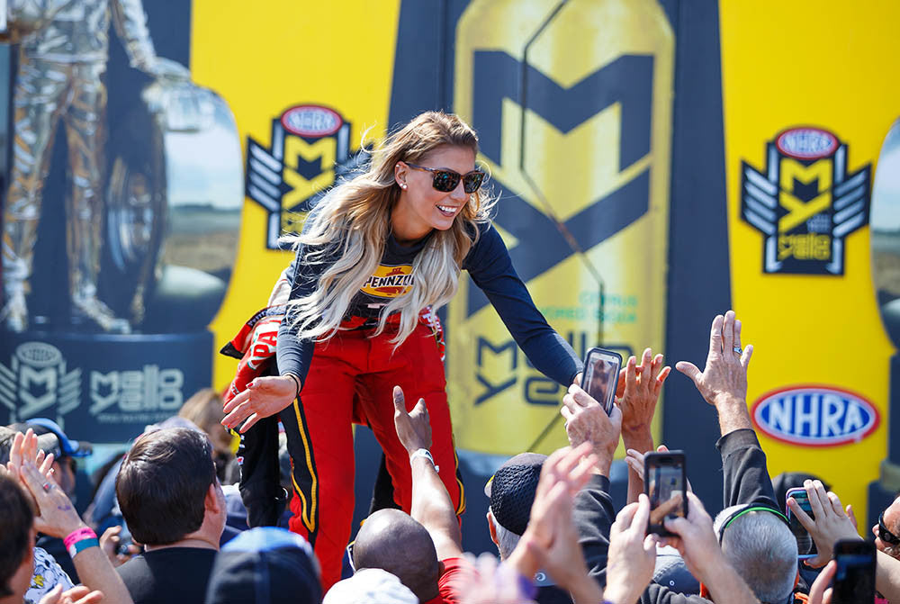 Leah Pritchett 'more comfortable' despite pressure of being the early points leader | Leah Pritchett