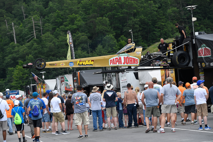 Pritchett No. 3 seed heading to Sunday's NHRA Thunder Valley Nationals at Bristol | Leah Pritchett