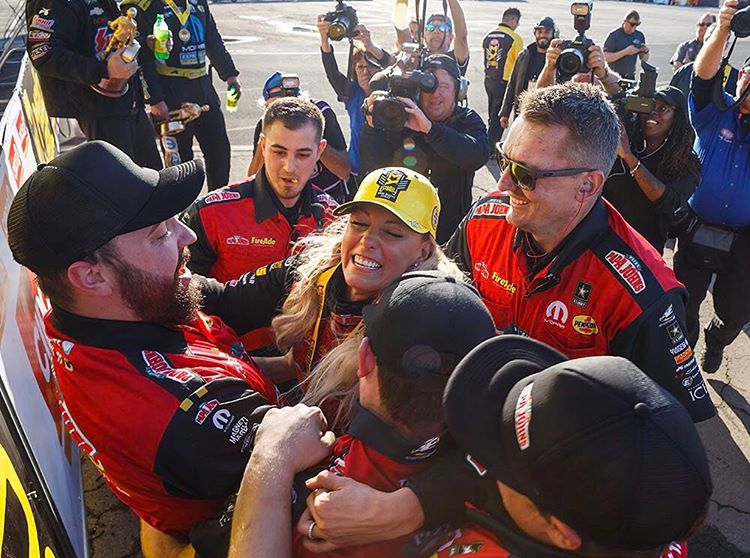 Leah Pritchett takes her second career Top Fuel win in Pomona | Leah Pritchett