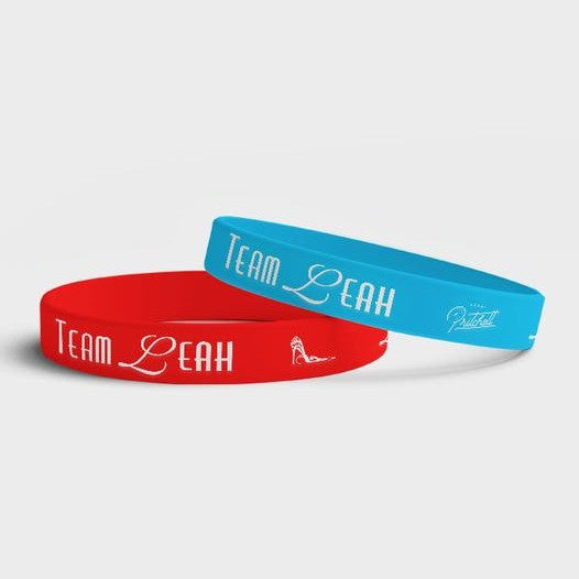 Leah Pritchett Red and Blue Wristbands | Leah Pritchett