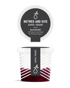 NUTMEG AND HIVE Blueberry Super Yogurt
