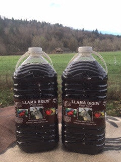 Brown Friday Special*** Two- One Gallon Bottles of Llama Brew Liquid Plant Food. - Llama Brew