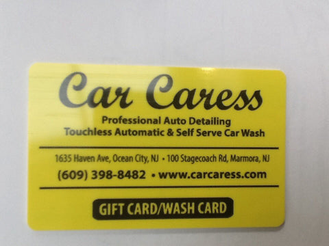 $100 Discount Wash Card