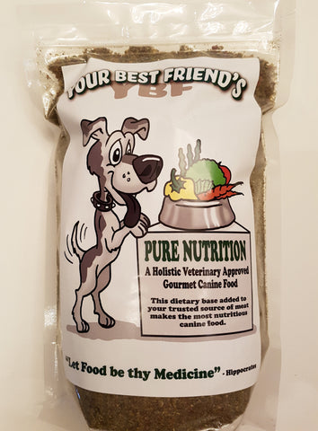 YBF-Your Best Friend's Pure Nutrition Veterinary Approved Gourmet Canine Food Mix