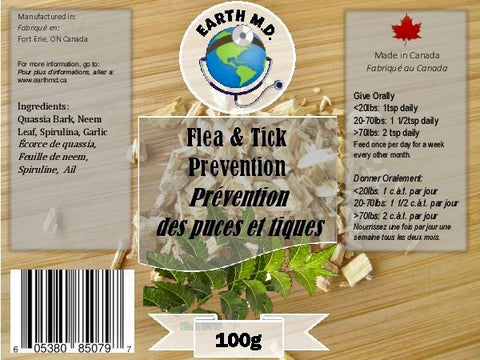 Earth MD Flea & Tick Prevention Powder