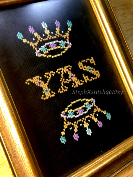 Yas Queen - PDF Cross Stitch Pattern