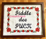 Fiddle De Fuck - PDF Cross Stitch Pattern