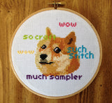 Doge Meme - PDF Cross Stitch Pattern