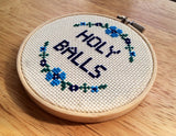 Holy Balls - PDF Cross Stitch Pattern