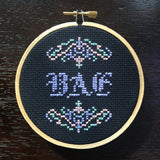 BAE -PDF Cross Stitch Pattern