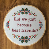 Did We Just Become Best Friends? - PDF Pattern