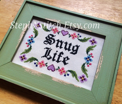 Snug Life - PDF Cross Stitch Pattern