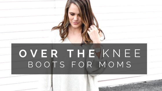 TREND ALERT: Over the Knee Boots This Fall/Winter