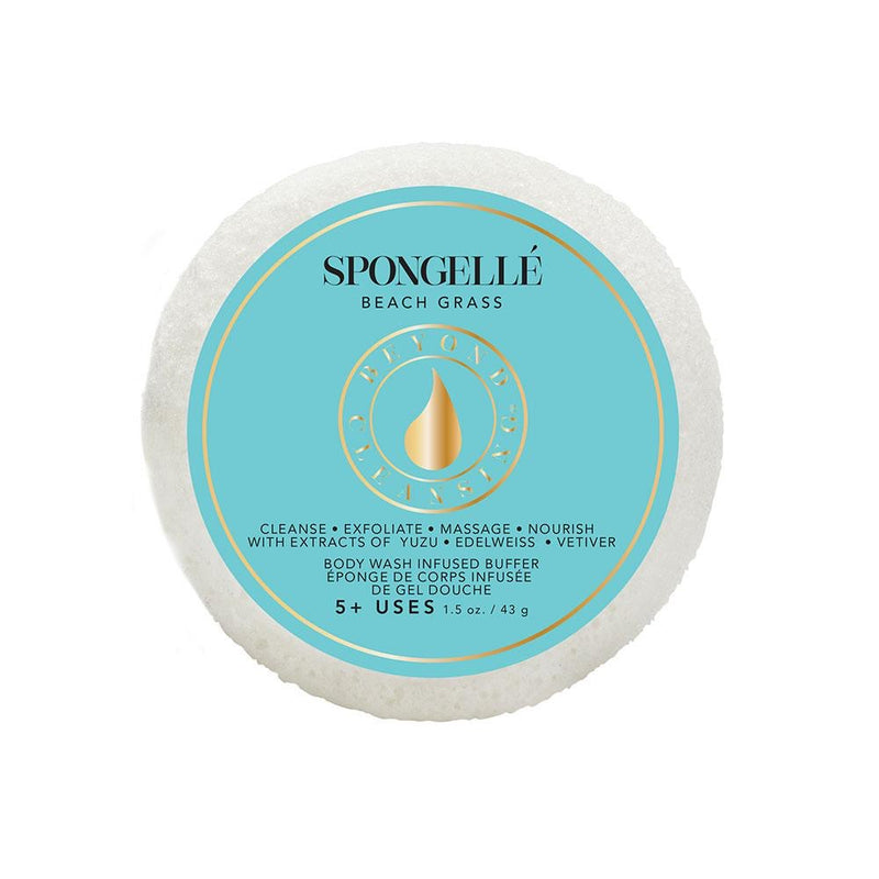 Spongellé, Circle White Sponge - The Ivory Closet