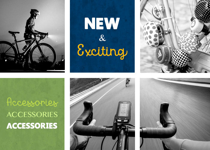 New & Exciting Cycling Accessories at Yorktown Cycles