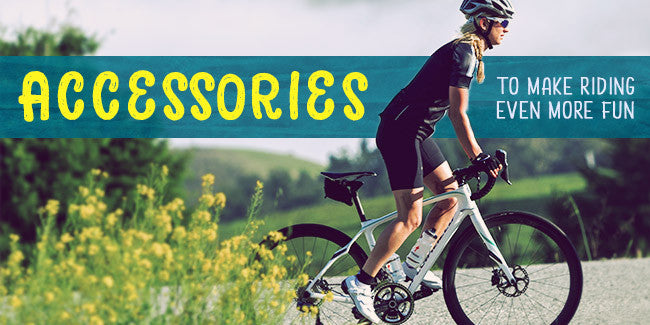 Cycling accessories to make riding more fun