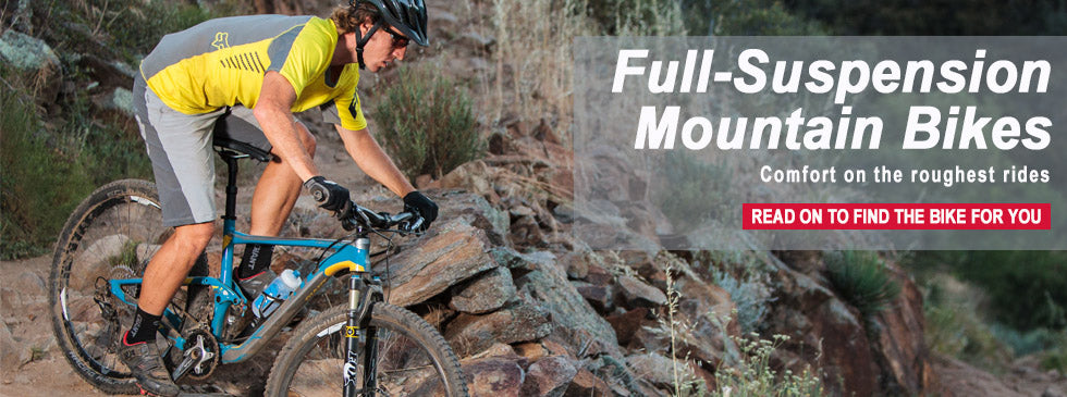 why buy a full suspension mountain bike