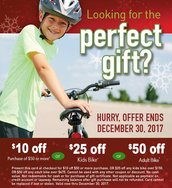 Holiday Specials at Yorktown Cycles