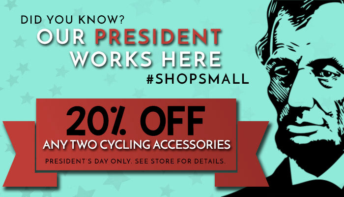 President's Day Special Offer at Yorktown Cycles