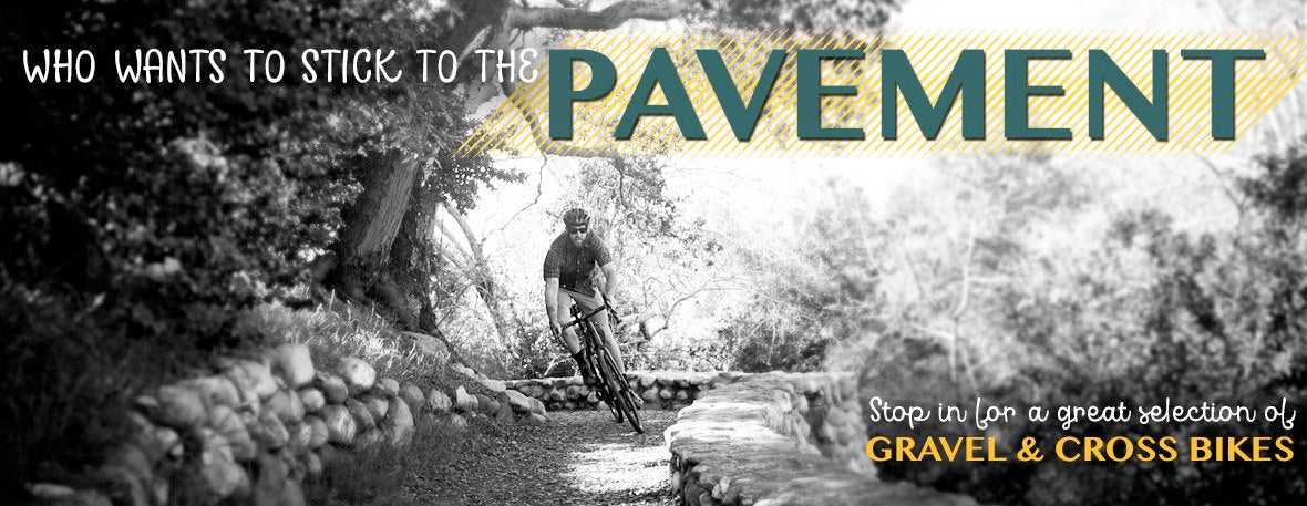 Gravel & Cross Bikes at Yorktown Cycles