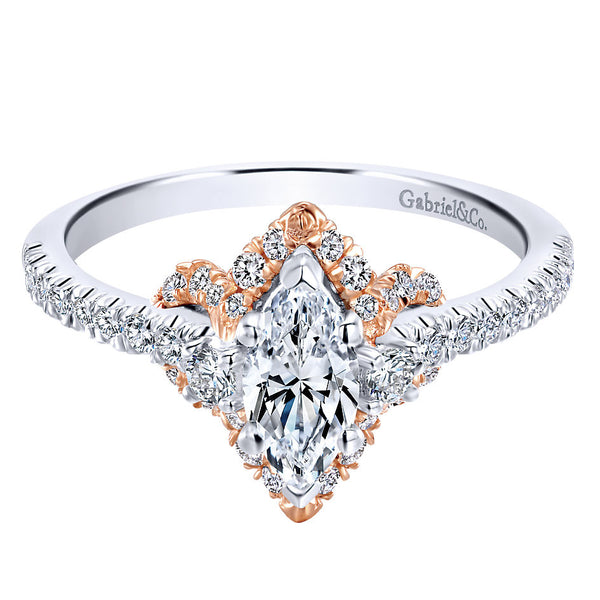 .95 Carat Marquise Engagement Ring