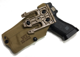 6354DO-832-741-MS19 GLOCK 17/22 W/LIGHT & RMR Coyote Brown