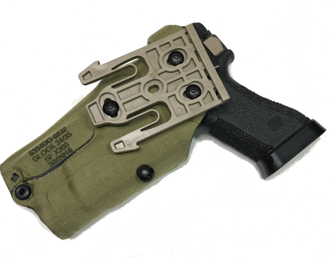 Safariland 6354do Als Optic Holster For Glock 17 22 W Light Rmr On
