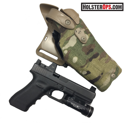 Safariland 6360RDS ALS/SLS Multi-Cam Optic Holster Mid-Ride LIII Duty, Safariland - HolsterOps