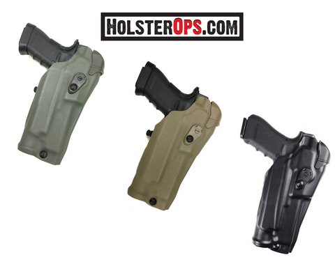 "Safariland 6384RDS ALS Optic LI Holster with QLS 19 Holster Fork ""Colors Now Available"" In Stock - Holsterops.com"