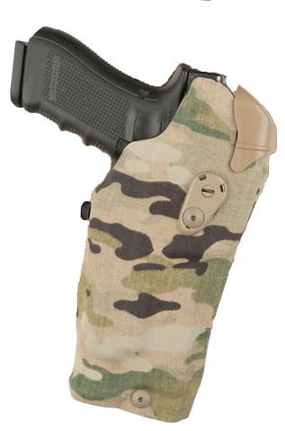 "Safariland 6384RDS ALS Optic LI Holster with QLS 19 Holster Fork ""Multicam"" For Glock, Safariland - HolsterOps"