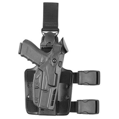 Safariland 7TS™ SLS Tactical Holster with Quick Release Level II Retention (Model 7005), Safariland - HolsterOps