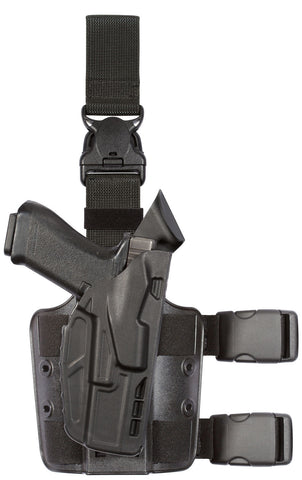 Safariland 7TS™ ALS® Tactical Holster with Quick Release Level I Retention (Model 7355), Safariland - HolsterOps