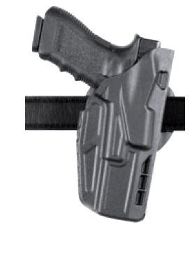 Safariland Model 7376 7TS™ ALS® Hi Ride Belt Slide Holster, Safariland - HolsterOps