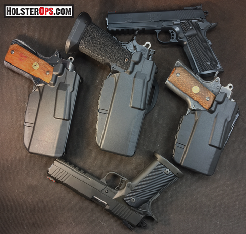 "Safariland 7TS™ ALS® Concealment Holster ""NEW 1911/2011, 1911 Tactical, OFC, Commander,"" 7371, 7376,7377,7378,7379, Safariland - HolsterOps"