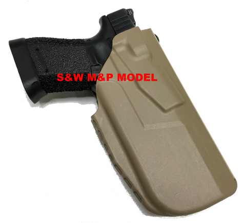 7TS™ ALS® Concealment Holster S&W M&P w/Surefire XC1 Custom Cutdown Version, Safariland - HolsterOps