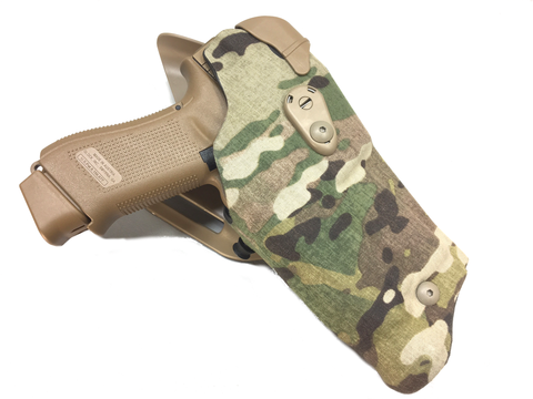 Safariland 6395RDS ALS Cordura Wrap Optic Holster Low-Ride LI Duty, Safariland - HolsterOps