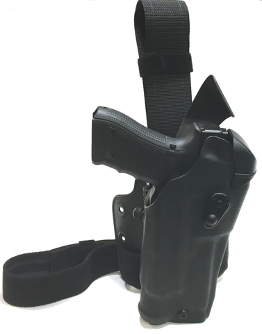 Safariland ALS RDS LI Optic Holster on Single Strap Tactical Rig - Holsterops.com