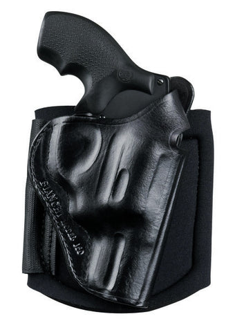 Bianchi 150 Negotiator Ankle Holster for S&W J-Frame Models & Similar Revolvers, Safariland - HolsterOps