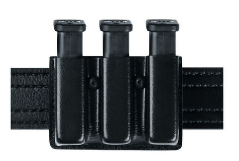 Safariland 775 Slimline Open Top Triple Mag Pouch Glock, HK, Sig, S&W 9mm/40cal, & Beretta, Safariland - HolsterOps
